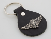 Motorcycle Wings and Head Key Fob