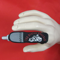 Busted Knuckle Retro Rider Finger Magnet