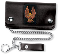 Carroll Leather 6″ Five-Pocket Freedom Machine I Chain Wallet