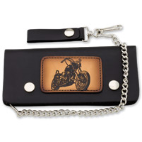 Carroll Leather 6″ Five-Pocket Motorcycle Chain Wallet