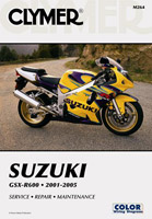 Clymer Suzuki GSX-R600 Manual 2001-2005