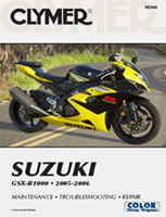 Clymer Suzuki GSX-R1000 Manual 2005-2006
