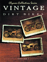 Clymer Vintage Dirt Bike Manual Volume 1