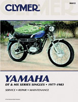 Clymer Yamaha DT and MX Series Singles Manual, 1977-1983