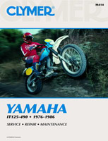 Clymer Yamaha IT125-490 Manual, 1976-86