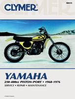 Clymer Yamaha 250-400cc Piston-Port Manual, 1968-1976