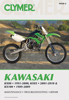 Clymer Kawasaki KX80, KX85 and KX100 Repair Manual