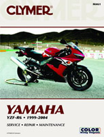 Clymer Yamaha YZF-R6 Manual, 1999-2004Honda CR125 Manual, 1998-2002