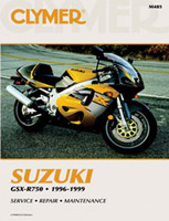 Clymer Suzuki GSX-R750 Manual, 1996-1999