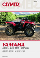 Clymer Yamaha Moto-4 and Big Bear Manual, 1987-2004