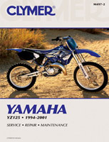Clymer Yamaha YZ125 Manual, 1994-2001