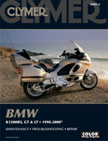 Clymer BMW K1200RS, GT & LT Manual, 1998-2008