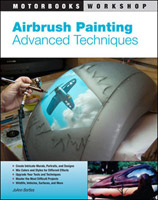 Motorbooks International Airbrush Painting Advanced Techniques Book