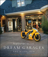 Motorbooks International Motorcycle Dream Garages Book