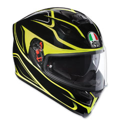 AGV K-5 S Magnitude Black/Fluorescent Yellow Full Face Helmet