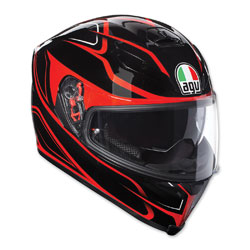 AGV K-5 S Magnitude Black/Red Full Face Helmet
