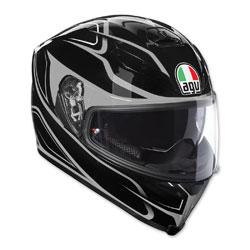 AGV K-5 S Magnitude Black/Silver Full Face Helmet