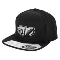 Roland Sands Design Apparel Cafe Wing Black/Charcoal Cap
