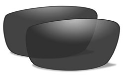 Wiley X Hudson Smoke Lenses