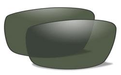 Wiley X Hudson Polorized Platinum Flash Lenses