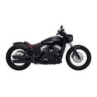 Vance & Hines 3″ Twin Slash Slip-Ons Matte Black