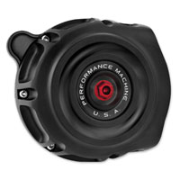 Performance Machine Vintage Air Cleaner Black-Ops
