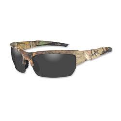 Wiley X Valor Realtree XTRA Camo Sunglasses with Smoke Lens