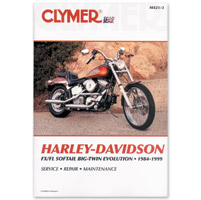 Clymer 1984-99 Big Twin Evolution Repair Manual