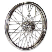 Paughco 21″ x 2.15″ Star Hub 40 spoke Chrome Wheel