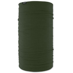 ZAN headgear Fleece Lined Olive Motley Tube
