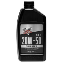 Twin Power Premium Engine Oil 20W50 Quart
