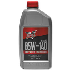 Twin Power Semi-Synthetic Transmission Oil 85W140 Quart