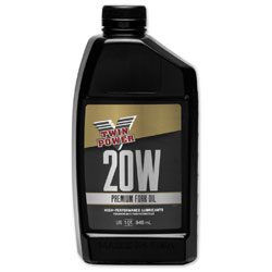 Twin Power Fork Oil 20W Quart