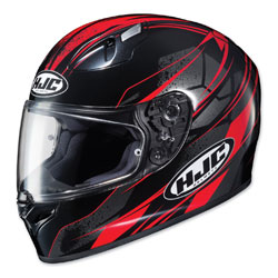 HJC FG-17 Toba Red/Black Full Face Helmet