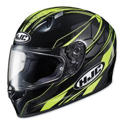 HJC FG-17 Toba Hi-Viz/Black Full Face Helmet