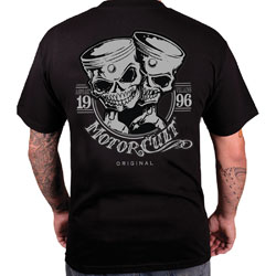 MotorCult Men's One & Only Black T-Shirt