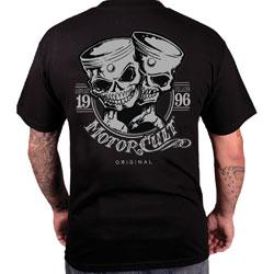 MotorCult Men's One & Only Black T-Shirt