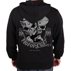 MotorCult Men's One & Only Black Hoodie
