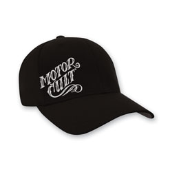 MotorCult Men's High Voltage Felx-Fit Black Hat