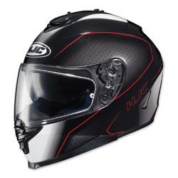 HJC IS-17 Arcus Black/Red Full Face Helmet