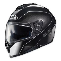 HJC IS-17 Arcus Black/White Full Face Helmet