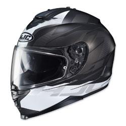 HJC IS-17 Tario Black/White Full Face Helmet
