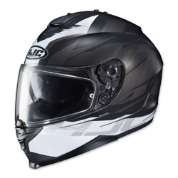 HJC IS-17 Tario Black/White Full Face Helmet