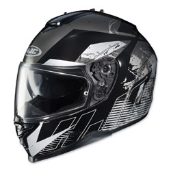 HJC IS-17 Blur Black/White Full Face Helmet