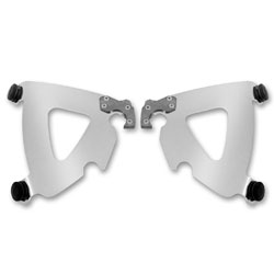 Memphis Shades Road Warrior Fairing Polished Mounting Plates Only