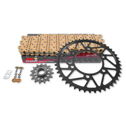 Superlite 520 15x44 Quick Acceleration Sprocket and Chain Kit