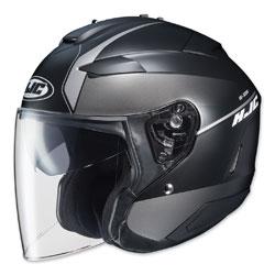 HJC IS-33 II Niro Black/Gray Open Face Helmet