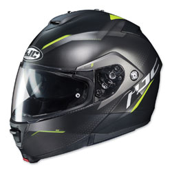 HJC IS-MAX II Dova Black/Hi-Viz Modular Helmet