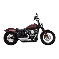 Vance & Hines Shortshots Staggered Exhaust Chrome
