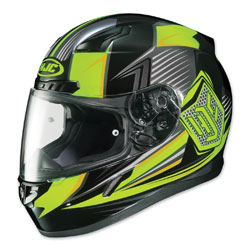 HJC CL-17 Striker Hi-Viz/Black Full Face Helmet